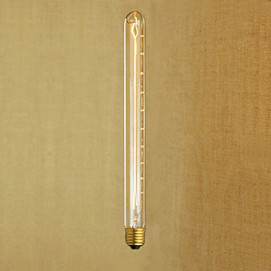 Ac220 -240 t26-300 e27 40w edison Retro- Flöten-Reagenzgläser Retro dekorative Birne v1pcs
