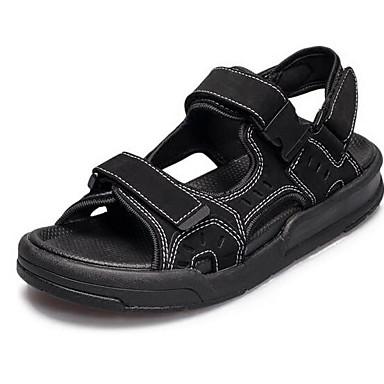 Dámské Boty PU Jaro Pohodlné Sandály Pro Ležérní Černá