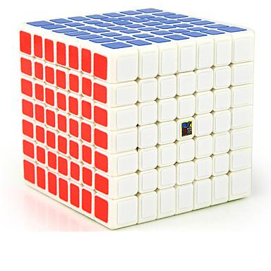 Rubik's Cube MoYu 7*7*7 Cubo Macio de Velocidade Cubos mágicos / Antiestresse / Brinquedo Educativo Cubo Mágico Adesivo Liso Dom Unisexo