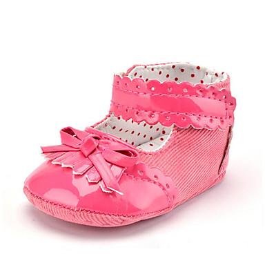 Kinder Mädchen Schuhe PU Trillich Sommer Herbst Stiefeletten Lauflern Stiefel Quaste Schnürsenkel für Normal Party & Festivität Kleid