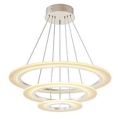 OYLYW Lámparas Colgantes Luz Ambiente - Mini Estilo, LED, 90-240V, Blanco Cálido / Blanco, Fuente de luz LED incluida / 20-30㎡