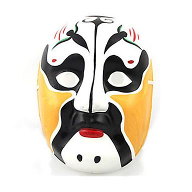Halloweenské masky Ručně malovaná maska Hračky Ostatní Omítka Jídlo a nápoje Pieces Unisex Dárek