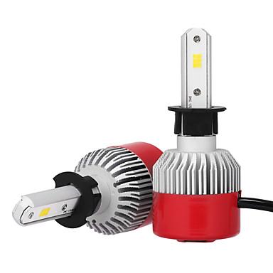 2pcs H3 Carro Lâmpadas 36W LED Integrado 3600lm LED Lâmpada de Farol