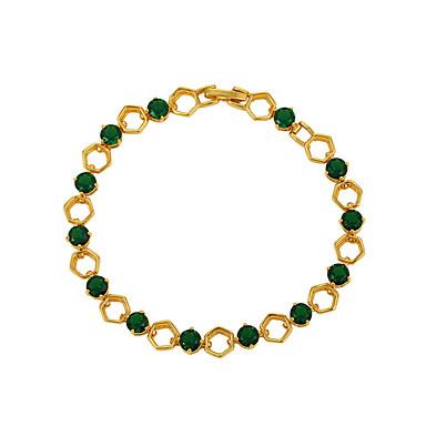 Dámské Řetězové & Ploché Náramky Luxus Vintage Cikánské Módní Slitina Circle Shape Geometric Shape Šperky Svatební Párty Zvláštní