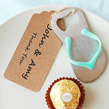 abridor de garrafas flip flop diy wedding favors beter gifts® party supplies