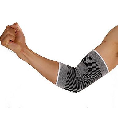 Cotoveleira para Exterior / Corrida Anti-fricção / Apoio conjunto / Respirável Roupas para Lazer 1pç Cinzento