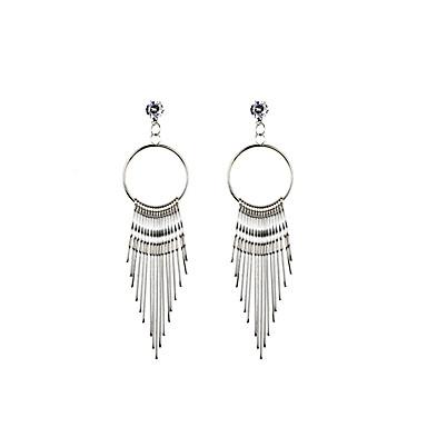 Damen Tropfen-Ohrringe - Personalisiert, Einzigartiges Design, Klassisch Gold / Silber Für Weihnachts Geschenke / Hochzeit / Party