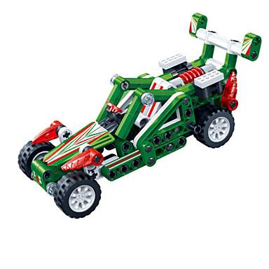 Carros de Brinquedo Blocos de Construir Carrinhos de Fricção Outros Cavalo Carro de Corrida Faça Você Mesmo Criativo Carro de Corrida