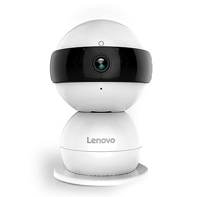 lenovo® boneco de neve 1080p 2.0 mp ip camera mini indoor com dia noite ptz baby monitor
