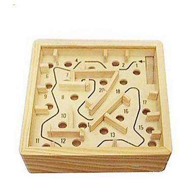 متاهة خشبية ألعاب الطاولة كرات متاهة خشب قطع للجنسين للبالغين هدية