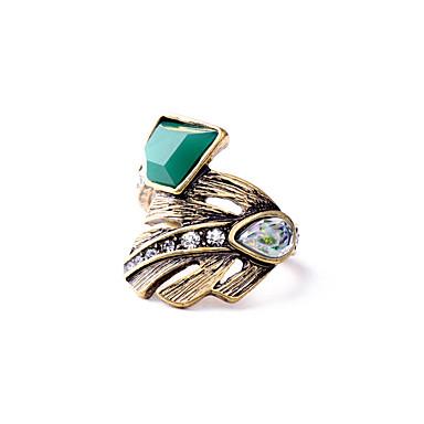 Dámské Prsten Jedinečný design Přizpůsobeno Cute Style Slitina Šperky Pro Párty Narozeniny