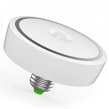12W 1100 lm E26/E27 LED chytré žárovky T120 24 lED diody SMD 5730 Infračervený senzor Senzor lidského těla Ovládání světla Teplá bílá