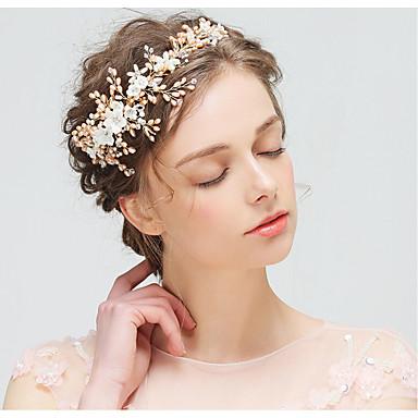Haar Kopfschmuck mit Imitation Perle / Strass Hochzeit / Party Kopfschmuck