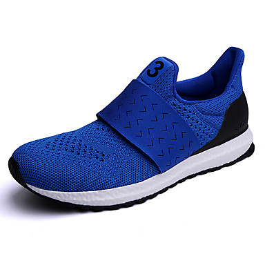 Miesten kengät Tyll Kesä Syksy Comfort Urheilukengät Vaellus varten Urheilullinen Kausaliteetti Musta Punainen Sininen