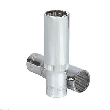 Stahl Schild 12.5mm Serie metrische 12 Winkel lange Hülse 17mm / 1 Unterstützung