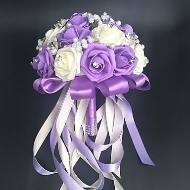ดอกไม้สำหรับงานแต่งงาน ช่อดอกไม้ / อื่นๆ / ดอกไม้ประดิษฐ์ งานแต่งงาน / งานปาร์ตี้ / งานราตรี วัสดุ / ลูกไม้ 0-20ซม.
