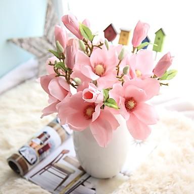 Umělé květiny 1 Větev evropský styl Orchidej Květina na stůl