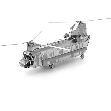 3D - Puzzle Metallpuzzle Helikopter Spaß Metal Klassisch