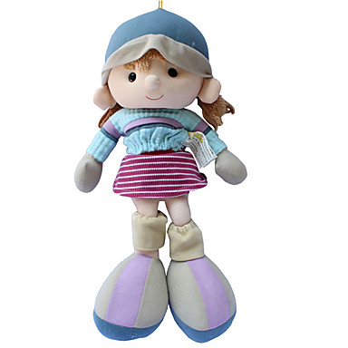 Plüschpuppe Mädchen Puppe Niedlich Kindersicherung Große Größe lieblich Non Toxic lieblich Stoff Plüsch Mädchen