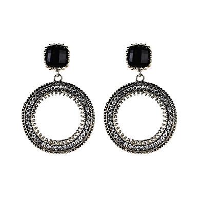 Damen Tropfen-Ohrringe Strass Luxus Einzigartiges Design Anhänger Stil Böhmische Euramerican Schmuck mit Aussage Modisch Strass Aleación