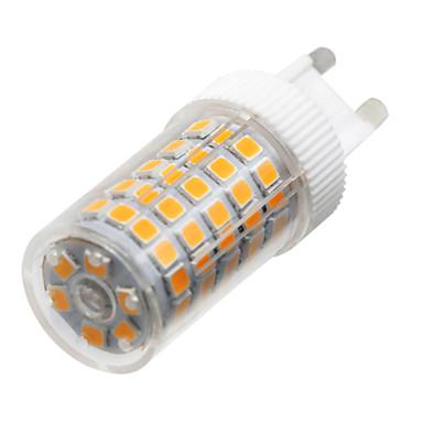 YWXLIGHT® 10W 900-1000 lm G9 Luminárias de LED  Duplo-Pin T 86 leds SMD 2835 Regulável Branco Quente Branco Frio Branco Natural AC