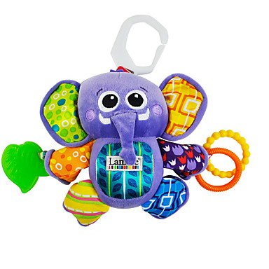 Fofinho Diversão Elefante Carros de Brinquedo Fantoches Animais de Pelúcia Brinquedo Educativo Crianças Bebê Dom