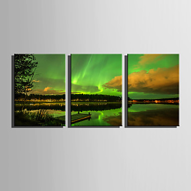 Canvas Print Three Panels Canvas Vertical Print Wall Decor Home Decoration