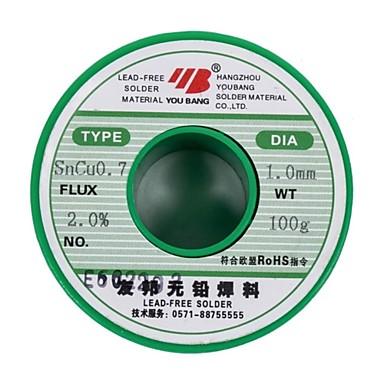 Aia olovnatý pájený drát sncu0.7 tenký drát 1,0 mm - 100 g / objem