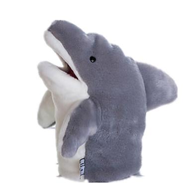 Fantoches Fantoche Pelúcias Brinquedos Tubarão Fofinho Adorável Felpudo Tactel Crianças Peças