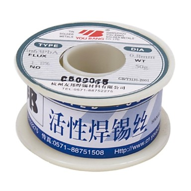Aia aktivní spájkovací dráty série sn63pba-0.3mm-500g / cívka