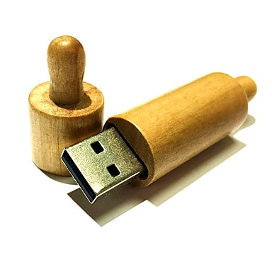 2GB unidade flash usb disco usb USB 2.0 De madeira W5-2