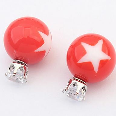 Damen Ohrstecker Tropfen-Ohrringe Kreolen Schmuck Personalisiert Religiöser Schmuck Luxus Kreisförmiges Einzigartiges Design Logo Stil
