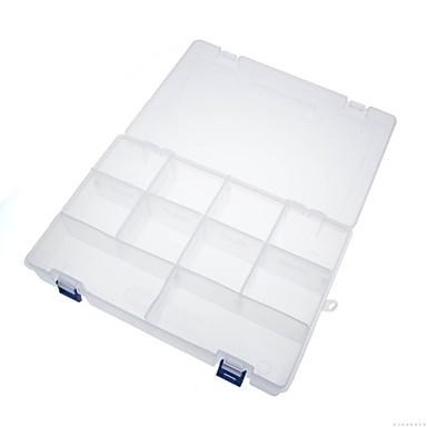 Stahl Schild Teile Box 5 # (300x200x62mm) Schachtel aus Kunststoff-Komponenten-Boxen / 1