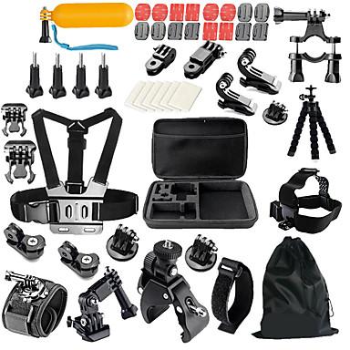 KIT Acessórios geral Exterior Multi funções Antichoque Para Câmara de Acção Gopro 6 All Action Camera Todos MEEE GOU MINI ThiEYE i60