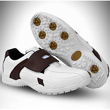 Homens Sapatos para Golf Borracha Golf, Vestível, Respirável Micofibra Sintética PU