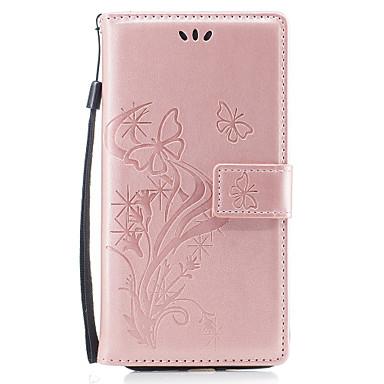 Capinha Para Apple iPhone 8 iPhone 8 Plus Porta-Cartão Carteira Com Suporte Flip Magnética Estampada Com Relevo Capa Proteção Completa