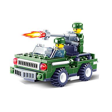 JIE STAR Carros de Brinquedo Blocos de Construir Quadrada Charrete Veiculo de Construção Para Meninos Unisexo Brinquedos Dom