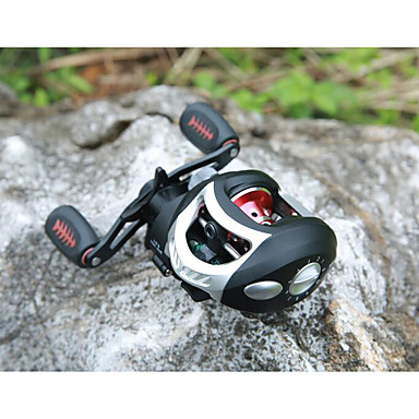 Fishing Reel Bearing Baitcast Reels 6.3:1 18 Ball Bearings Right-handed Left-handed Sea Fishing Fly Fishing Freshwater Fishing Lure