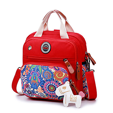 Women's Bags PU Canvas Kids' Bag for Wedding Event / Party Casual Formal Office & Career Outdoor All Seasons Black Red