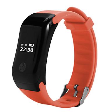 Pulseira inteligente X7 for iOS / Android Tela de toque / Monitor de Batimento Cardíaco / Calorias Queimadas Podômetro / Monitor de Atividade / Monitor de Sono / Encontre Meu Aparelho / Pedômetros