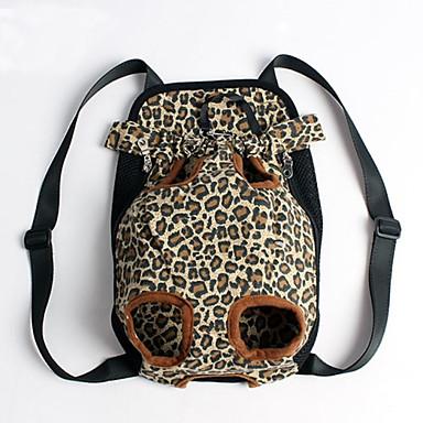 Katze Hund Transportbehälter &Rucksäcke vorne Rucksack Haustiere Hüllen Tragbar Leopardenmuster Blau Rosa Tarnfarbe Streifen Leopard Für