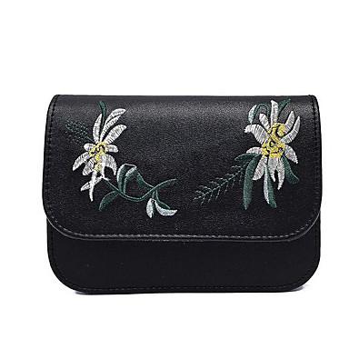 Women Shoulder Bag PU All Seasons Casual Outdoor Oval Zipper Black Blushing Pink Gray