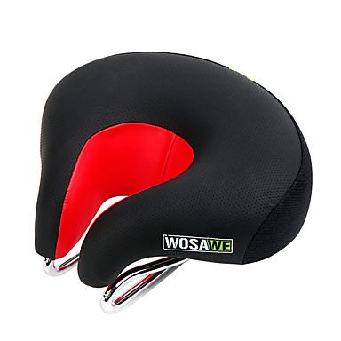 Bike Saddle / Bike Seat Cushioning, Wearable, Breathable Mountain Bike Polyurethanes / Iron