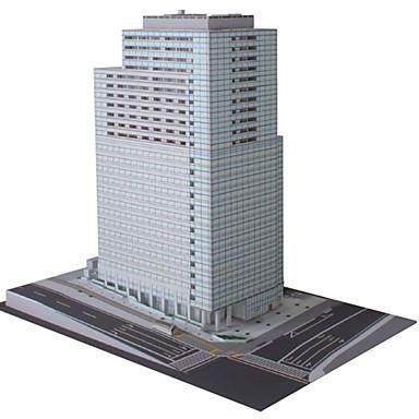 Quebra-Cabeças 3D Maquetes de Papel Artesanato de Papel Brinquedos de Montar Construções Famosas Arquitetura 3D Faça Você Mesmo Cartão de