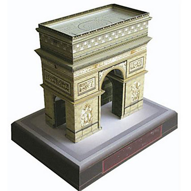 3D Puzzle Paper Model Famous buildings DIY Hard Card Paper Kid's Unisex Gift