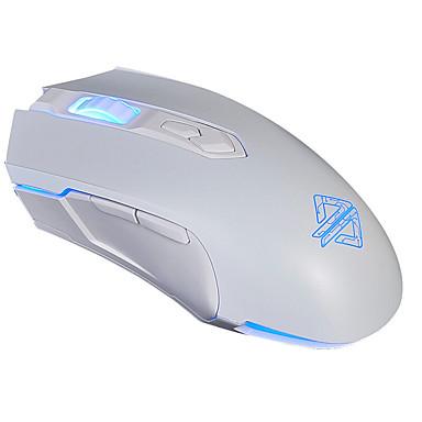 AJ52 Wired Gaming Mouse DPI Adjustable Backlit Programmable 750/1200/1600/2400