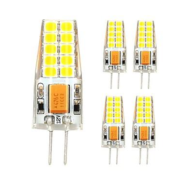 5pcs 3W 280 lm G4 LED Bi-Pin lamput T 20 ledit SMD 2835 Lämmin valkoinen Kylmä valkoinen
