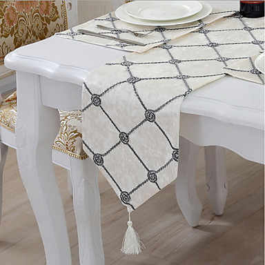Amestec Bumbac Fețe de masă Imprimare Decoratiuni de tabla 1 pcs