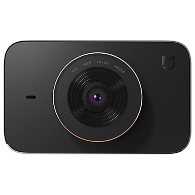 Xiaomi Mi Jia 1080p HD Car DVR 160 Degree Wide Angle 3 inch Dash Cam with Night Vision / G-Sensor / Parking Monitoring Car Recorder(CHN Version)