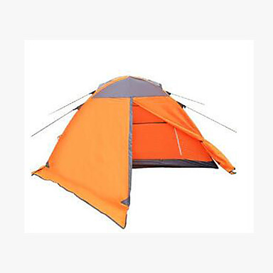 3-4 persons Tent Double Camping Tent Fold Tent Keep Warm for Camping / Hiking Other Material CM
